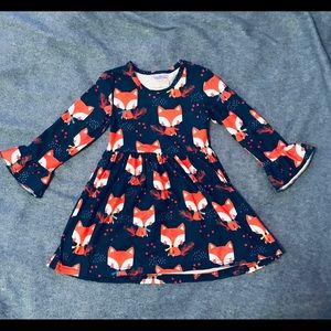 Other - 🚫SOLD🚫 Super Cute Fox Dress for Girls